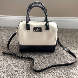 Kate Spade black & white purse